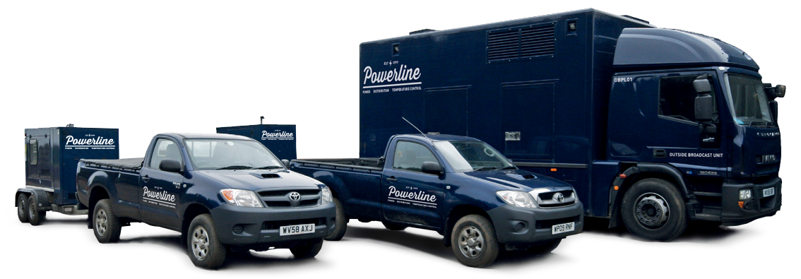 Powerline-outside-broadcast-Generator-truck and Road Tow Generators