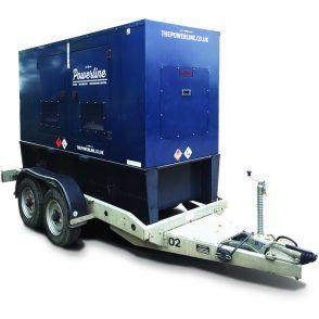 60 kVA Road Tow Generator GS60RT