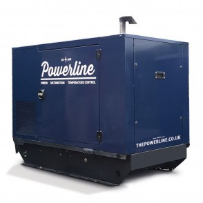 15 kVA Skid Mounted (Black Base) Generator GS15SM