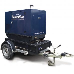 20 kVA Road Tow (Black Base) Generator GS20RT
