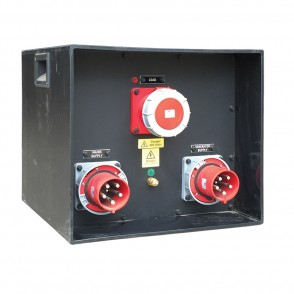 125A 3phase Manual Changeover Cube LRMCO