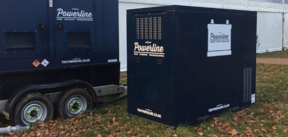 Large Hybrid Generator Hire