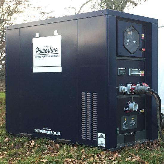 Hybride Generator Hire from Powerline
