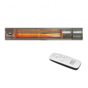 Shadow 2kW Ultra Low Glare Heater – With Remote TCH2000ULG