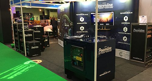 Powerline at Event Production Show 2018