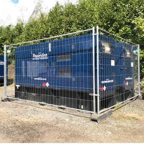 Standard Herras Temporary Fencing Hire HF35M – (With Blocks & Clips)